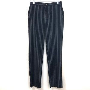 Forever 21 High Waist NWT Pinstriped Cotton Pants